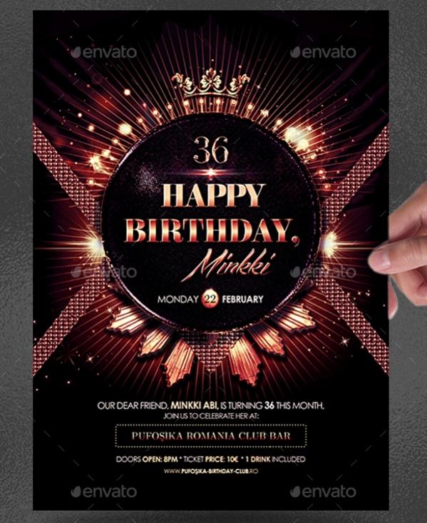 Birthday Poster Design