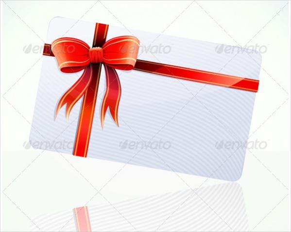 Blank Gift Card Design
