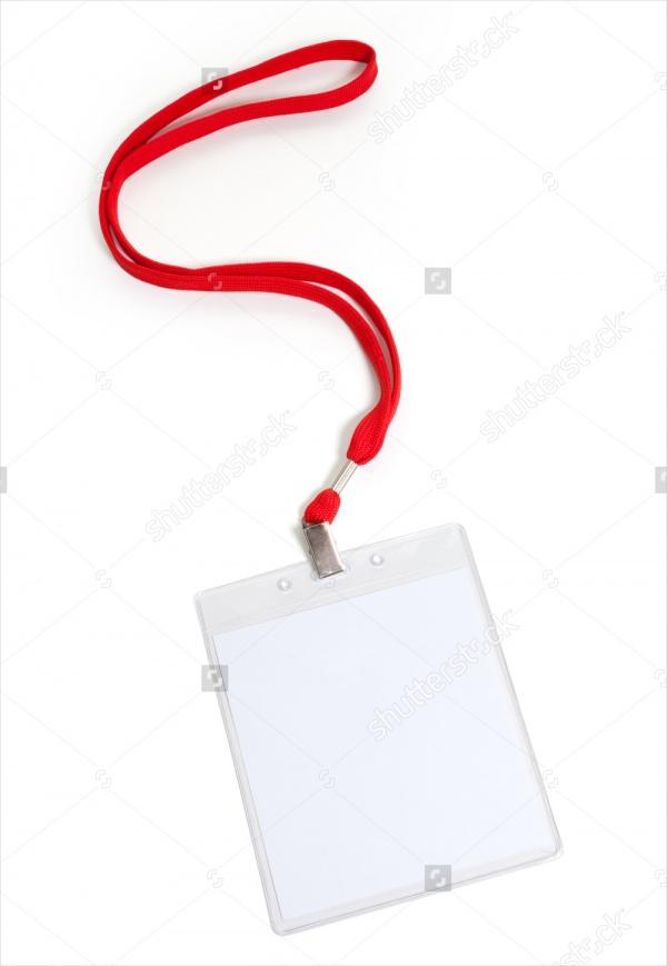 Blank Name Tag Design