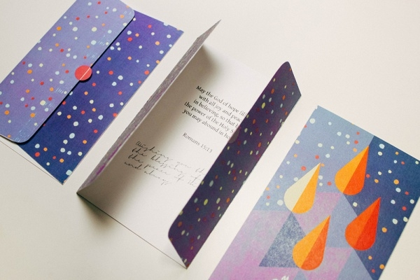 Blessed Christmas Greeting Cards