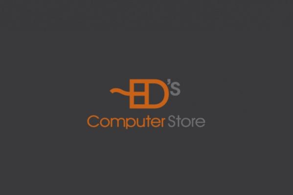 Branding Store Computer Logo