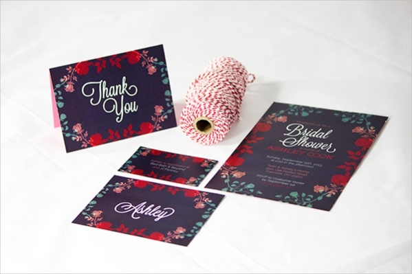 Bridal Shower Garden Party Invitation