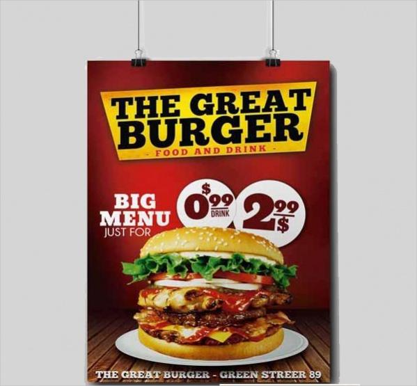 Burger Fast Food Flyer