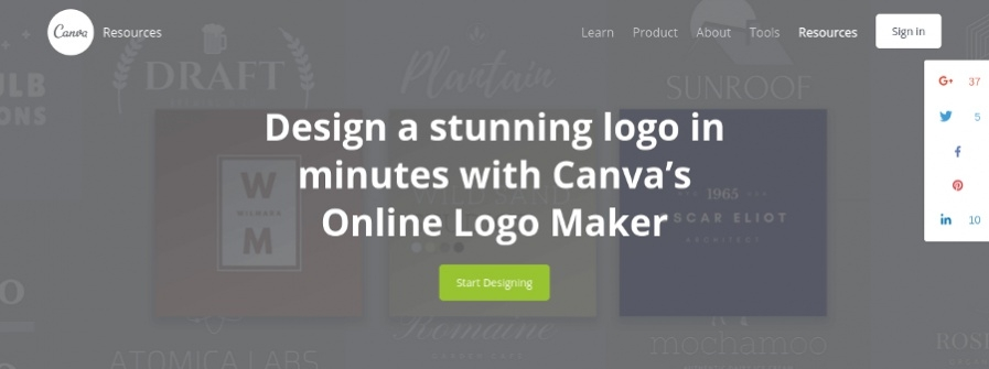 Canva - Online Logo Maker