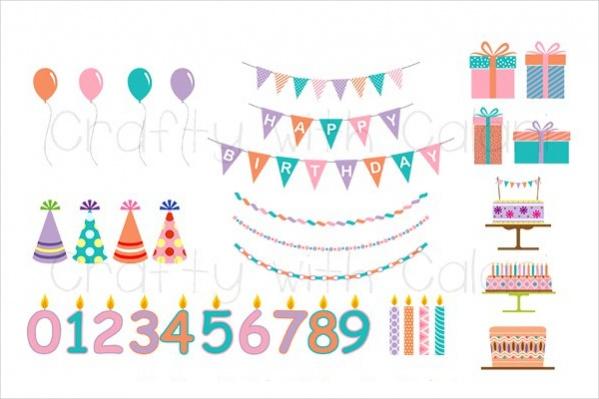 Childrens Birthday Clipart