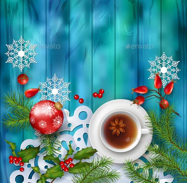 Christmas Background Set Wallpaper