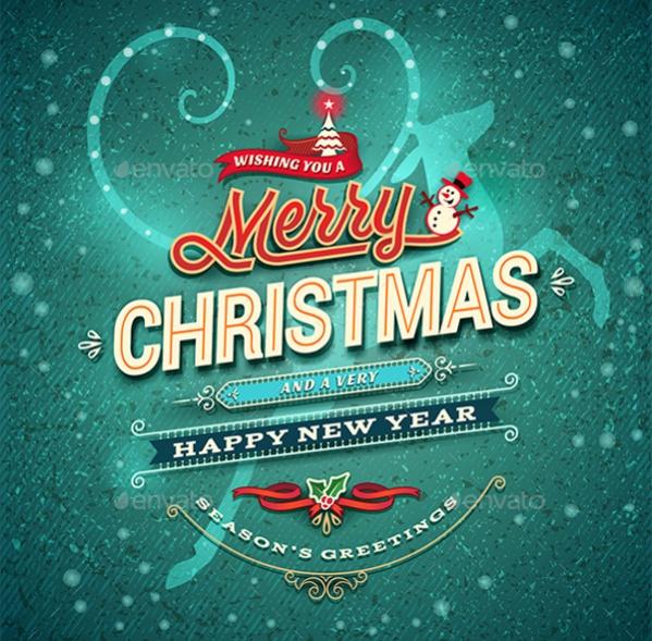 Christmas Card For Printable
