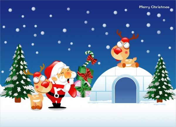 christmas-cartoon-wallpaper