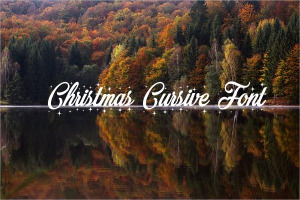 Christmas Cursive Font