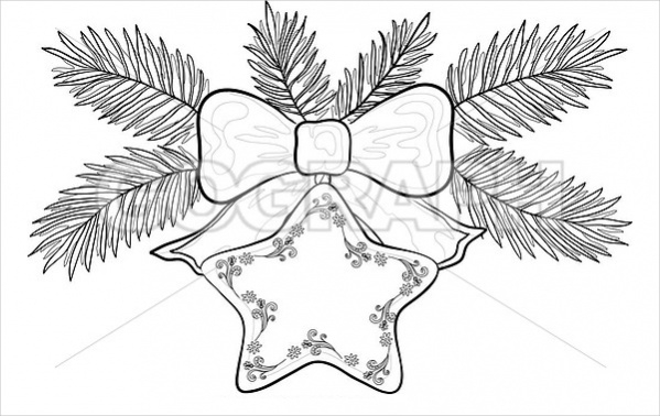 Christmas Decoration Drawing