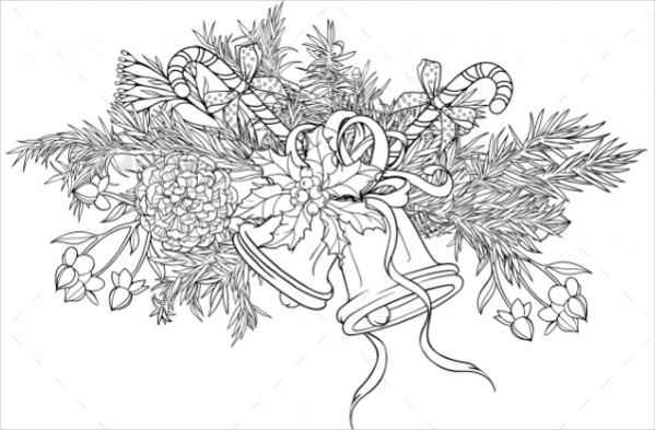 christmas-decorations-coloring-page