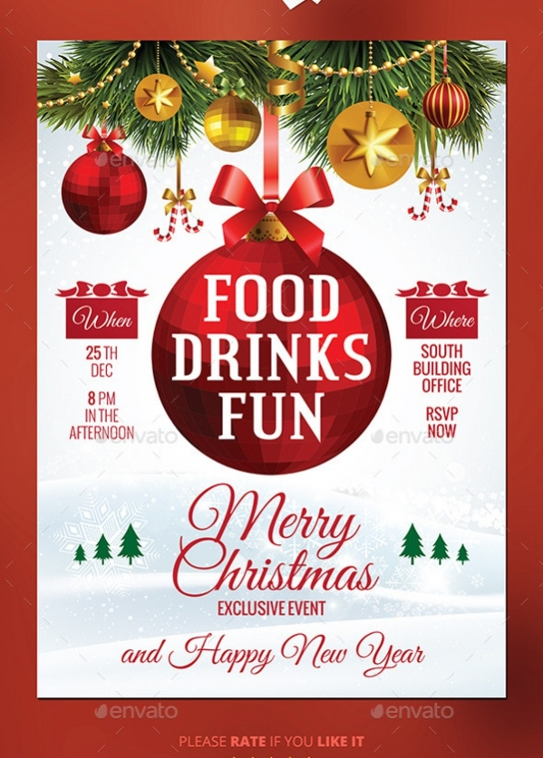 17+ Christmas Party Invitations - PSD, AI Illustrator Download