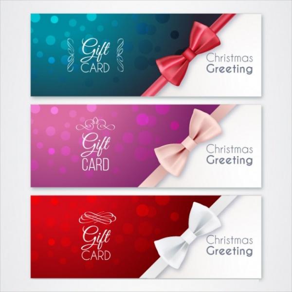 Christmas Gift Card Design
