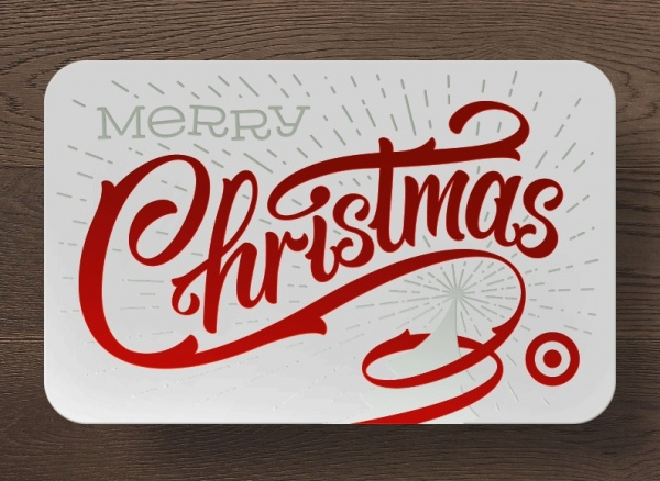 Christmas Hand lettering Card