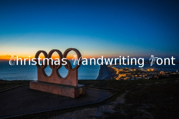 Christmas Handwriting Font
