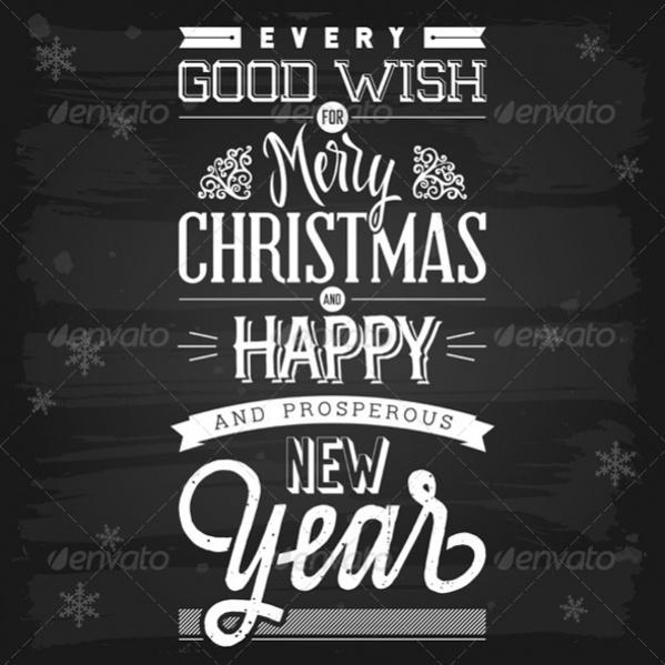 Christmas & Happy New Year Greetings