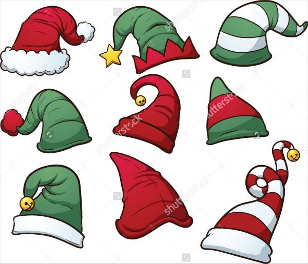 Christmas Hats Cliparts