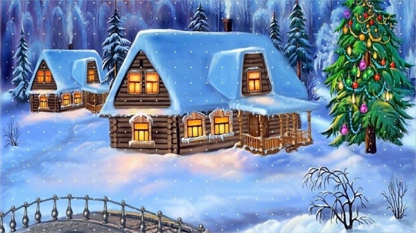 Christmas Home Backgrounds