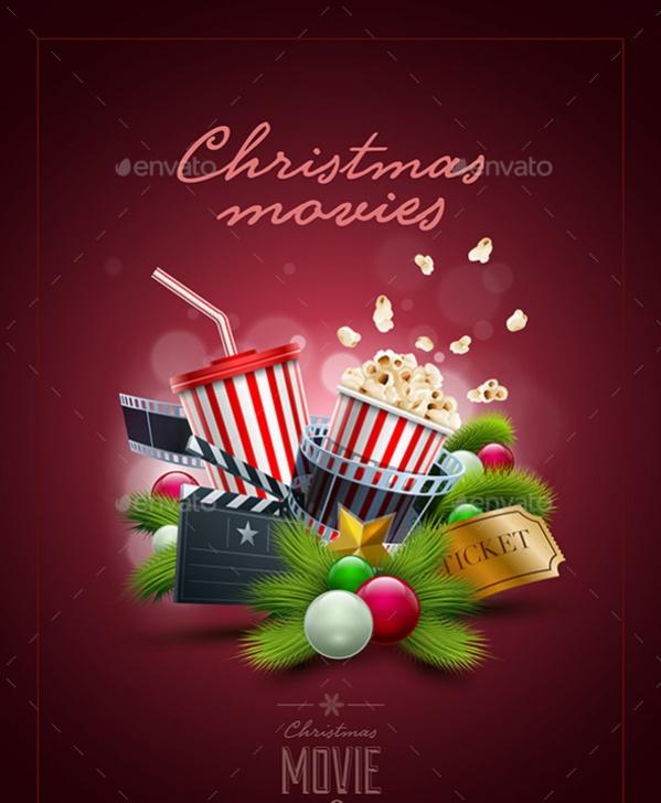Christmas Movie Poster Designs