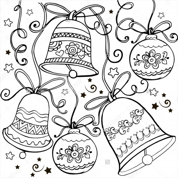 christmas ornament coloring pages - Coloring Pages Christmas Ornaments