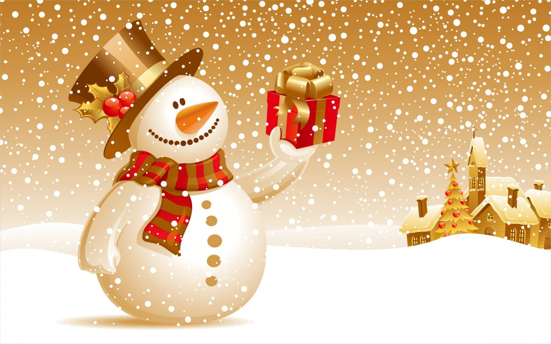 christmas-snowman-backgrounds