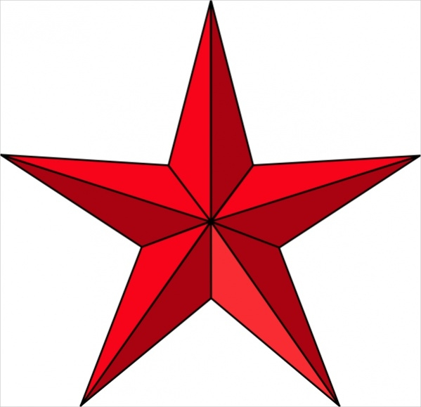 Christmas Star Clip Art Free