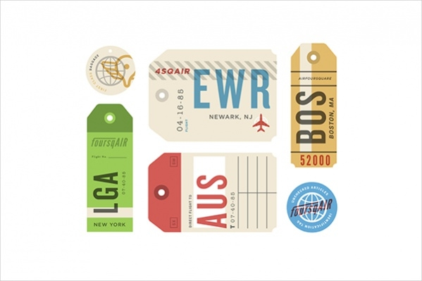Collection of Luggage Tags