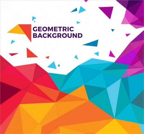 Colorful Geometric Background Design