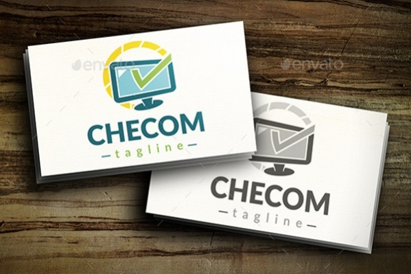Computer Check Logo Design