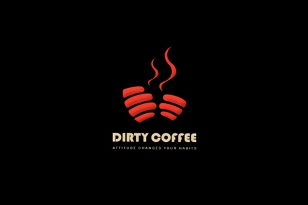 Cool Coffee Logo Design
