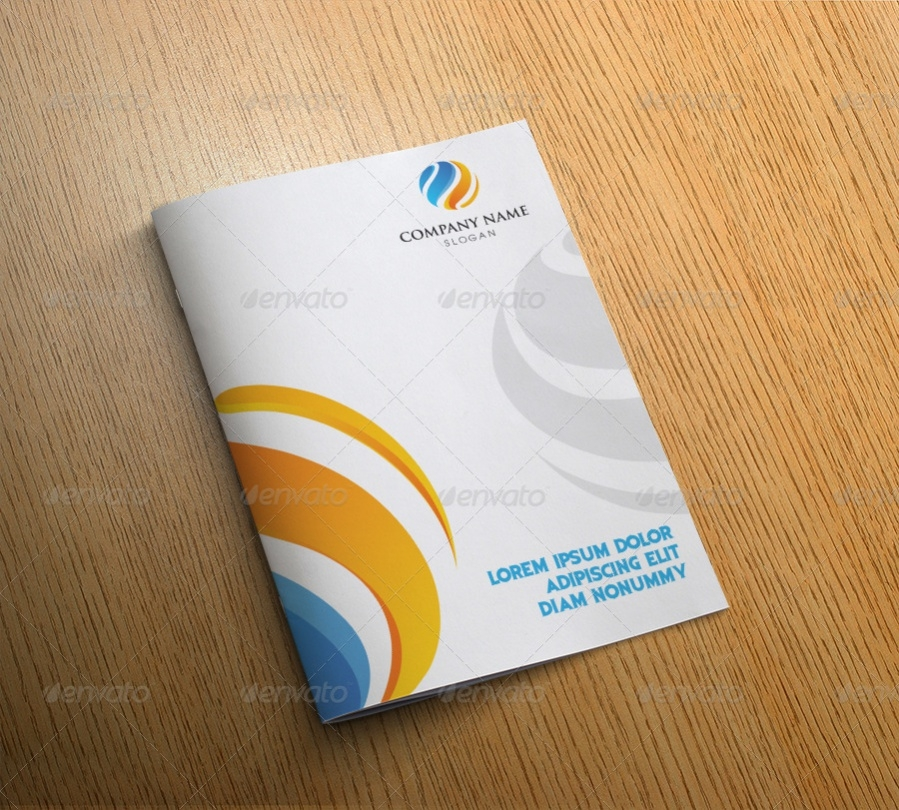 Cool Bi Fold Brochure Design