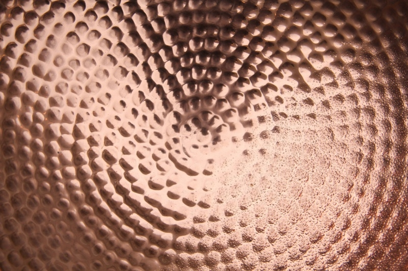 Copper Metal Plate Texture