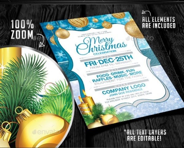 corporate christmas party invitation1