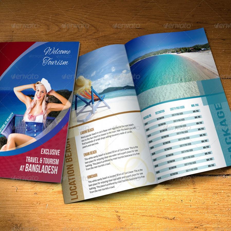 Corporate Travel Brochure