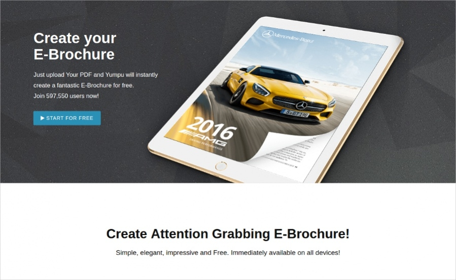 Create your E-Brochure