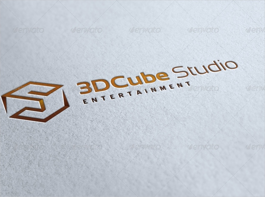 Cube Studio Entertainment Logo Design