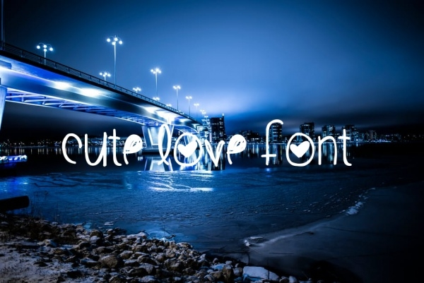 Cute Love Font