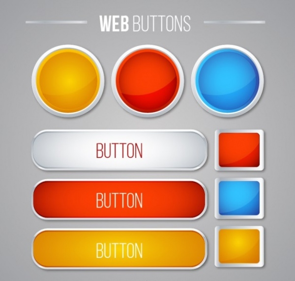 Cute Web Buttons Pack