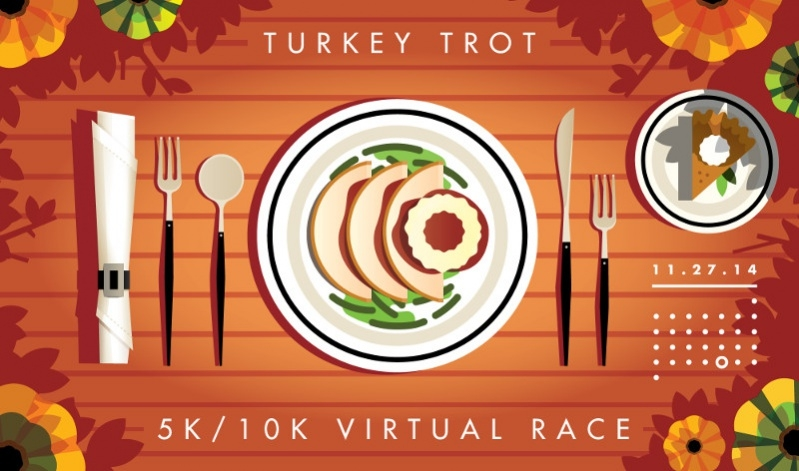 Cutlery Turkey Trot Thanksgiving