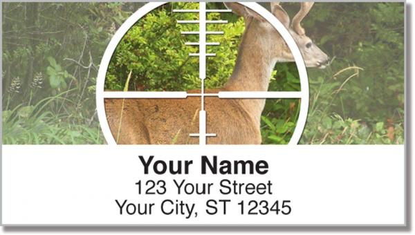 deer hunting address labels