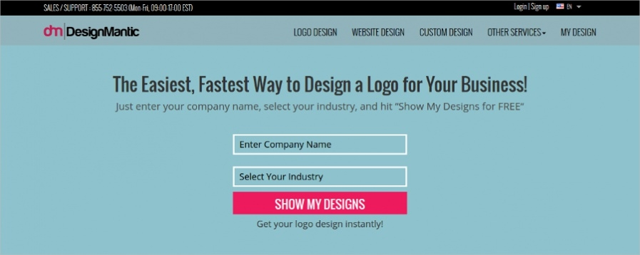 Design Mantic - Best Logo Maker Online