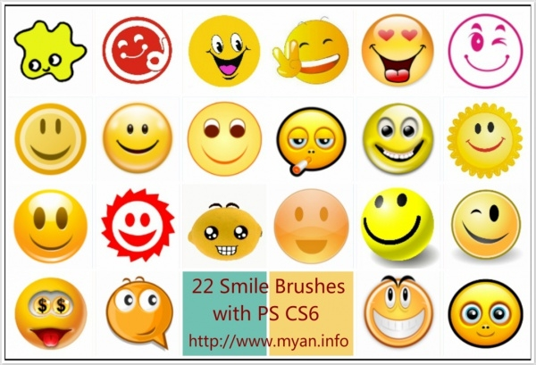 Different Smile Brushes