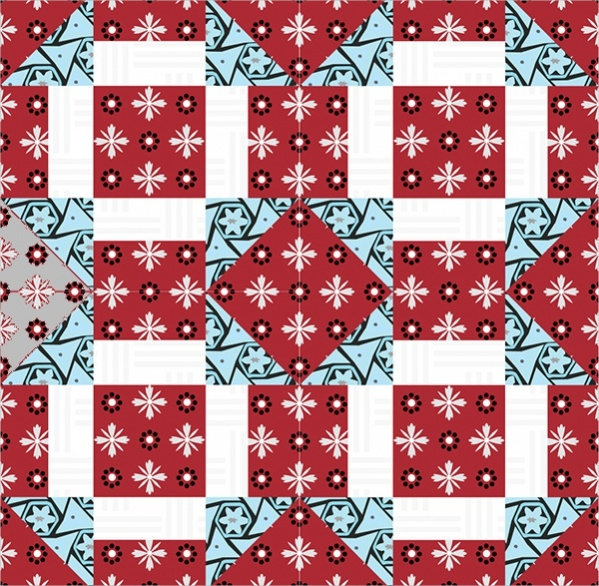 Digital Quilt Pattern Design