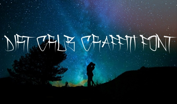 Dirt Grub Graffiti Font