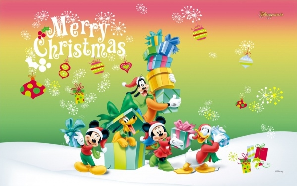 Disney Christmas Background