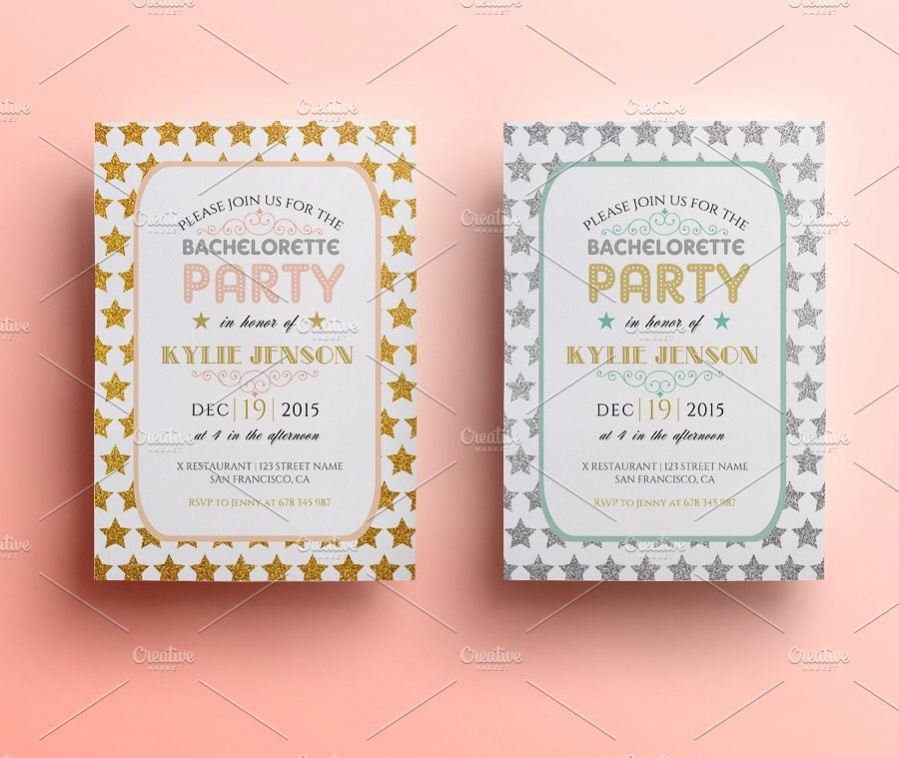 Diy Bachelorette Party Invitation