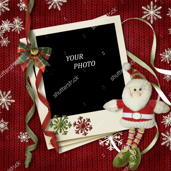Diy Blank Photo Christmas Card