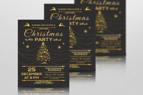 Diy Christmas Party Invitation