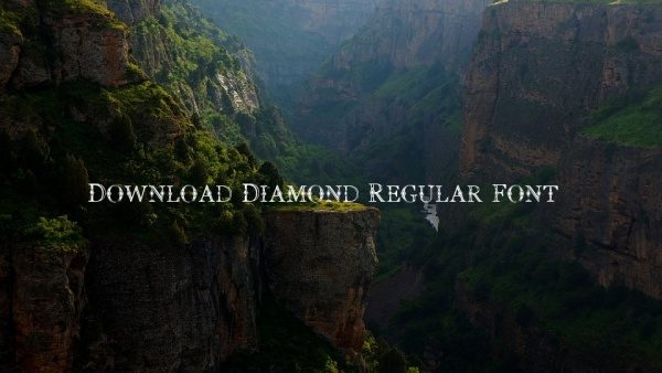 Download Diamond Regular Font
