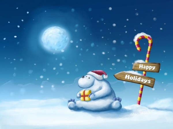 download free holiday wallpaper